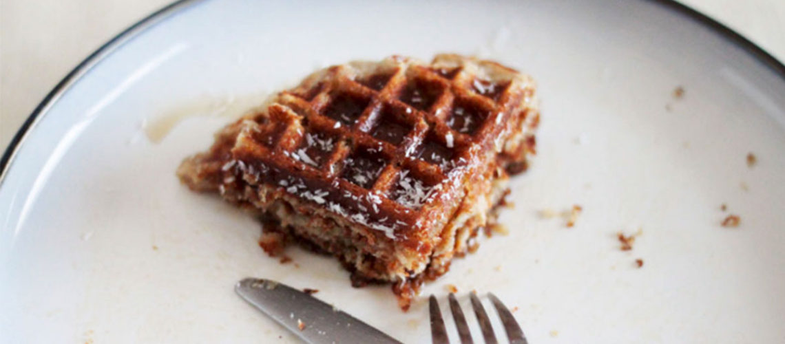 Host The Best Brunch Ever With These Banana Coconut Waffles