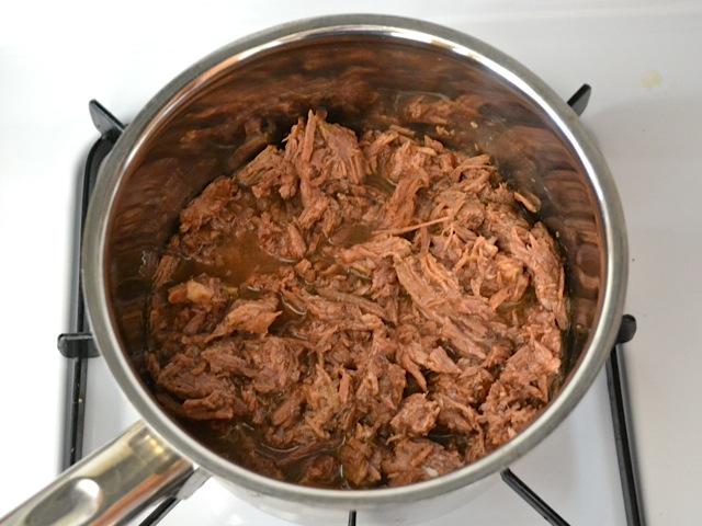 1 reheat beef