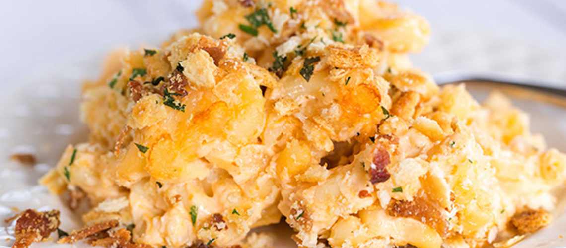 Want Even MORE Cheesy Goodness? Try Baked Macaroni And Cheese!