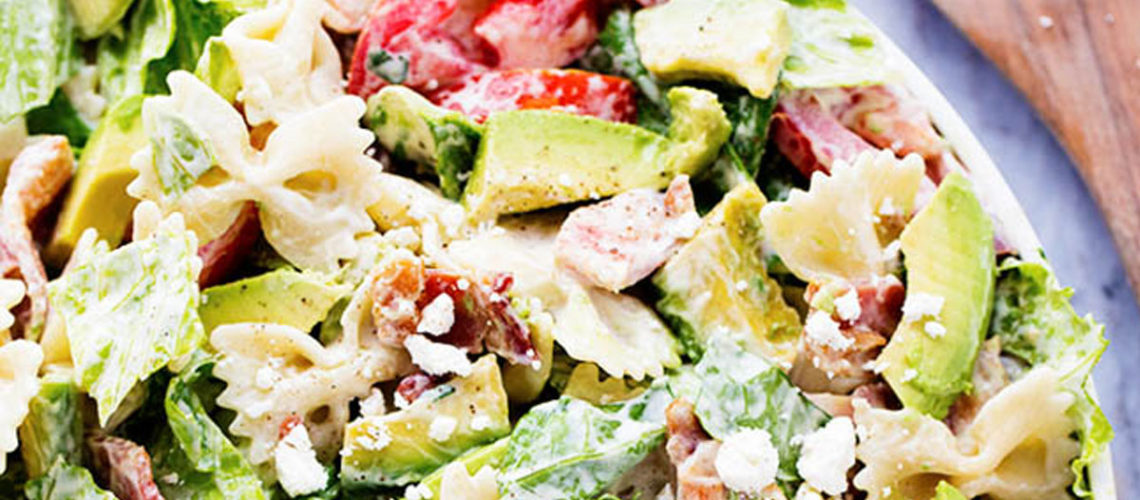 Turn A Classic Sandwich Favorite Into A Tasty Pasta Salad!