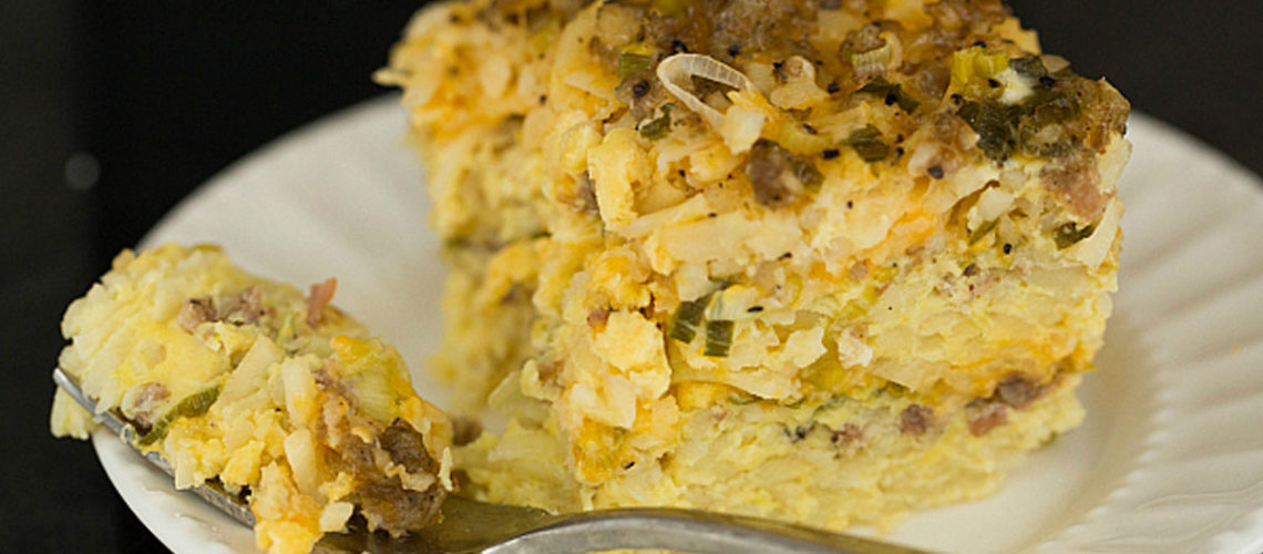 Casserole For Breakfast? Just One Taste Of This Sausage And Hash Brown Recipe Will Make You A Believer!
