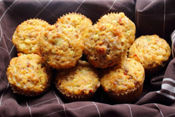 sausage-and-sweet-corn-muffins