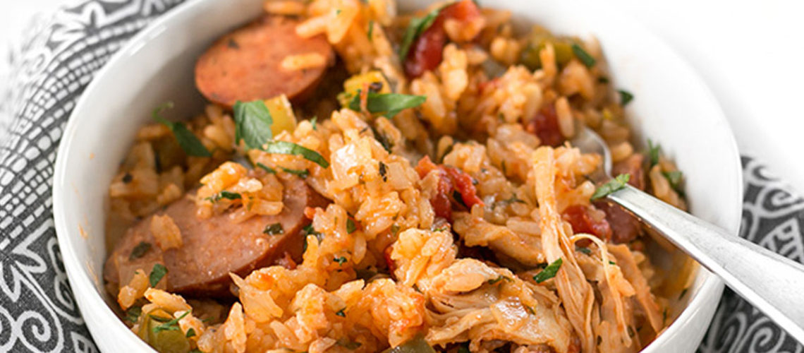 Use Your Slow Cooker To Make Some Ridiculously Good Jambalaya