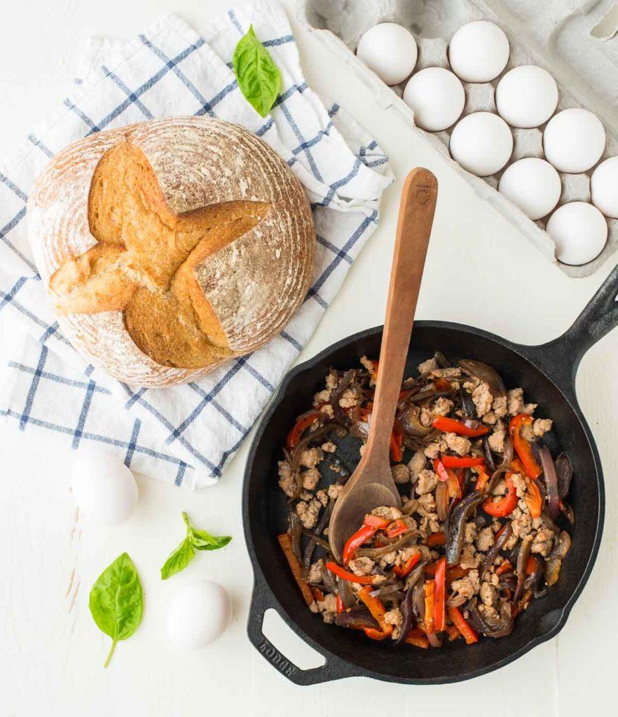 Italian-Sausage-Breakfast-Bowl