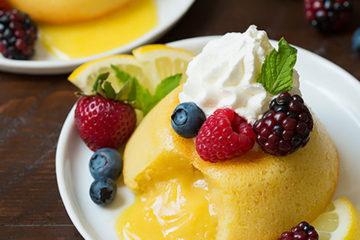 lemon-lava-cakes