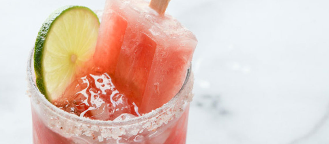 Grab A Salted Margarita Popsicle Before Summer Ends