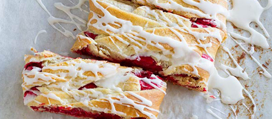 Red Velvet Cream Cheese Danishes: A Breakfast Fit For A Queen